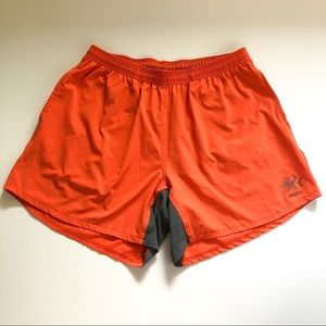 Chubbies Orange Athletic Shorts